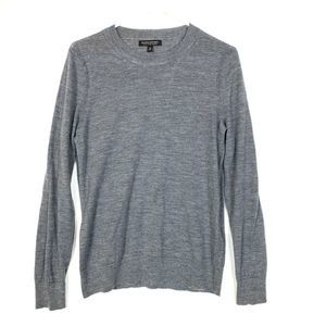 Banana Republic M Gray Sweater Fine Merino Wool